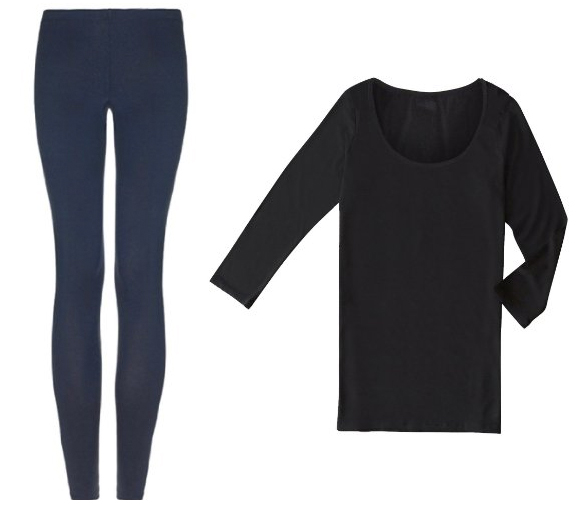 arteecollage leggings and top