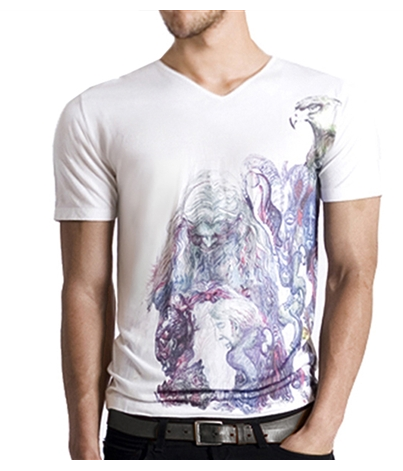 arteecollage mens graphic t-shirt